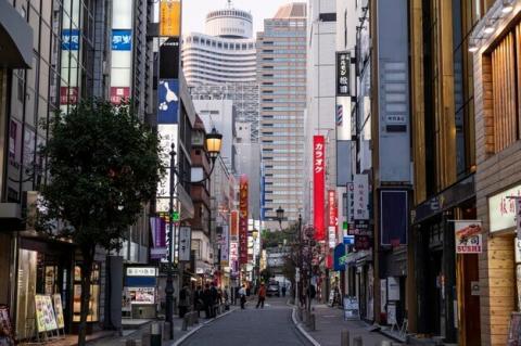 日本の街の風景